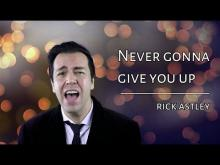 Embedded thumbnail for Never gonna give you up - Rick Astley (cover by Henry Slim)