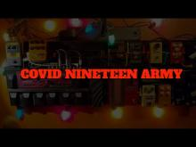 Embedded thumbnail for COVID NINETEEN ARMY - THE WHITE STRIPES PANDEMIC PARODY - by CABIN FEVER