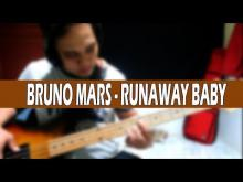 Embedded thumbnail for Bruno Mars - Runaway Baby Bass Cover