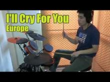 Embedded thumbnail for I'll Cry For You - Europe (Drums)